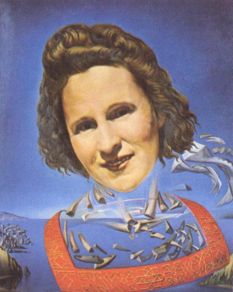 portrait-of-gala-with-rhinocerotic-symptoms