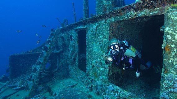 подводного плаванья