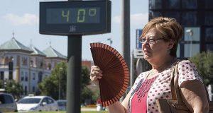 На Испанию надвигается «горячая волна»