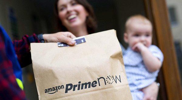 Amazon Premium – доставка продуктов за час