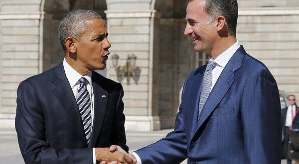 Президент Соединенных Штатов Барак Обама посетил Испанию