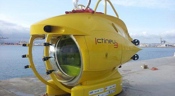 Подводное судно Ictineu начтет подводные археологические исследования