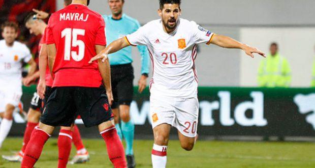 Испания разбирается с Албанией