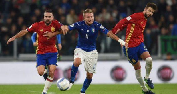 Испания и Италия расходятся миром в Турине.