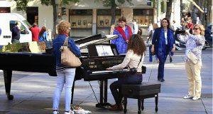 На улицах испанской столицы лучшие пианисты сыграют для прохожих