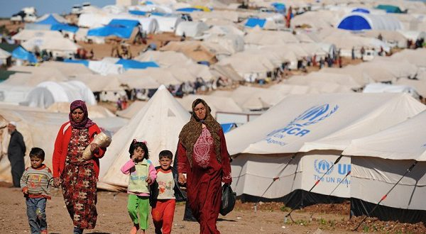 Новая партия беженцев
