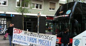 Жители Барселоны протестуют против приезжих