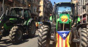 """В Барселоне прошел """"Фермерский марш"""""""