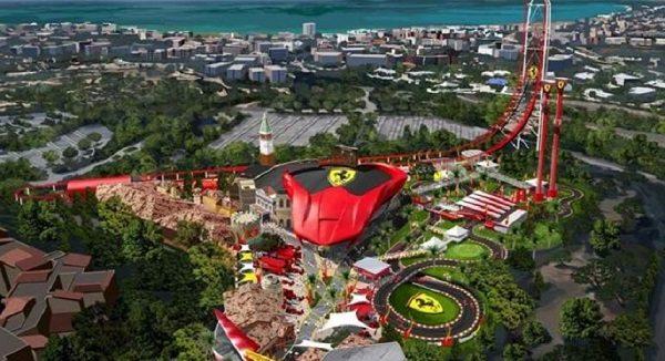 Ferrari Land откроется в апреле!
