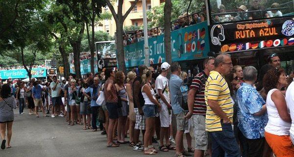 В Барселоне против туристов!
