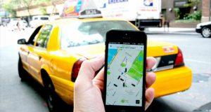 Заказ такси в онлайн режиме