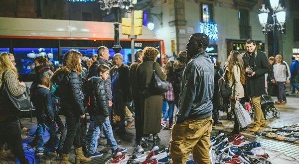 Беженцы выбирают Барселону