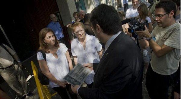 В Барселоне прощаются с символами эпохи Франко