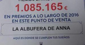 Испании славится Лотерея Анны