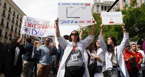 Испанские ученые поддержали мировую науку участием во Всемирном марше.