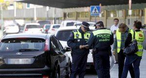 Дорожная полиция стала выписывать больше штрафов мадридским водителям