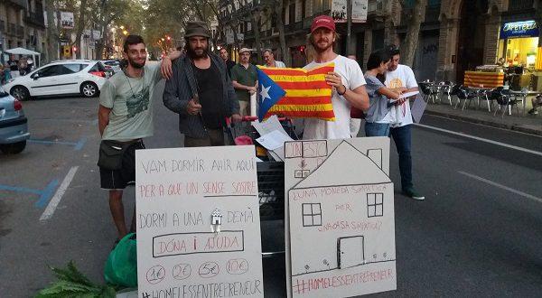 В Барселоне подсчитают бездомных