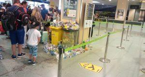 Воздушная гавань Ибицы завалена мусором