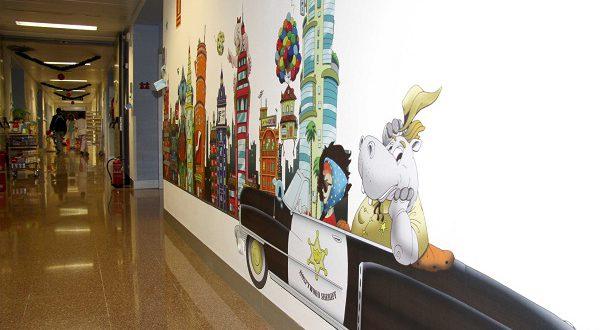 Испанские детские больницы меняют дизайн