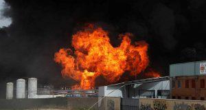 В окрестностях Мадрида на химзаводе произошел взрыв, есть пострадавшие