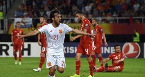 Испания разобралась с Македонией на выезде
