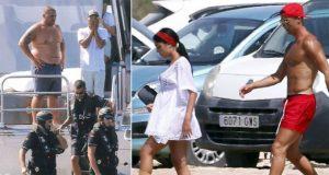 Вооруженные люди с испанской таможни провели обыск на яхте Криштиану Роналду
