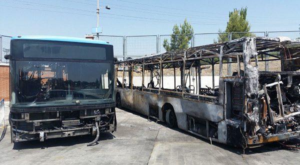 Транспортное управление столицы создает подразделение по предотвращению возгораний в автобусах
