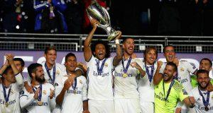 Реал Мадрид выигрывает Суперкубок УЕФА