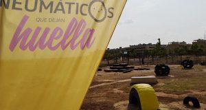 В школе Maestro Rodrigo появилась игровая площадка из… шин