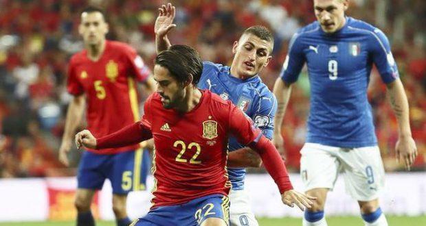 Испания изящно разбирается с Италией