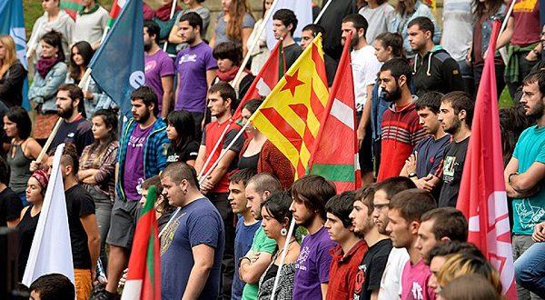 Каталонские студенты поддерживают проведение референдума о независимости