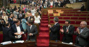 Каталония: Закон о референдуме принят!