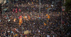 Всеобщая забастовка в Каталонии