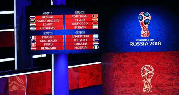 Жеребьевка Чемпионата Мира в России 2018. Испании досталась легкая группа.