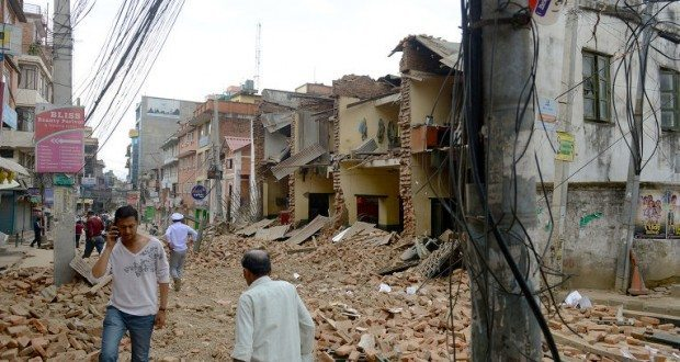 в Непале землетрясение