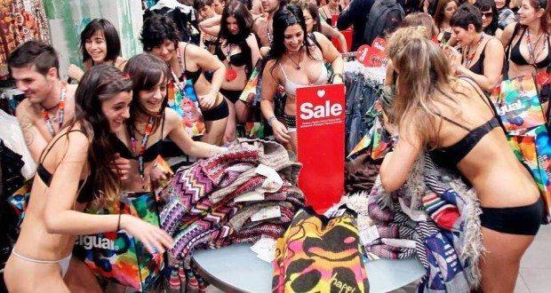 рождественских распродаж в Барселоне