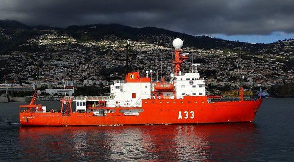 Научное судно BIO Hespérides прибыло в Картахену