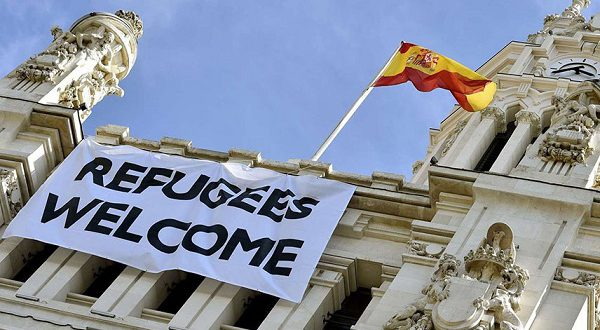Испанцы не против беженцев