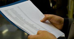 Общественности представили список «элитных» должников