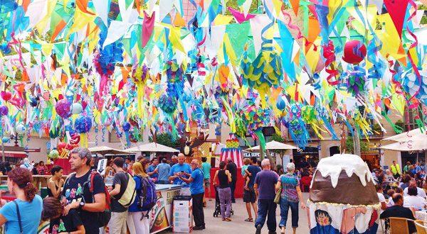 Фестиваль Грасия в Барселоне 2016