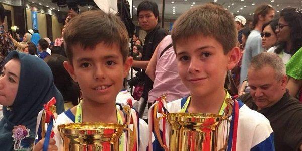 Испанские мальчишки стали лучшими в конкурсе вычислений на счетах