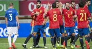 Испания - Лихтенштейн 8-0