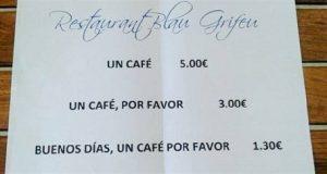 Ресторан Blau Grifeu. Поздоровайся и получи скидку!