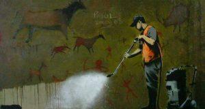 Очистка стен Барселоны от графити обойдется в копеечку