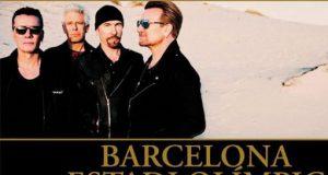 U2 даст концерт в Барселоне летом