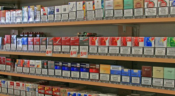 В Испании мало мест, где можно купить сигареты