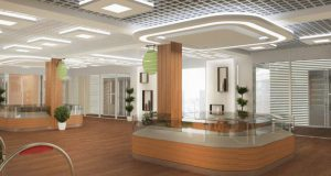 Потолочные LED-светильники «Армстронг»