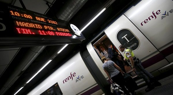 В течение этого года на скоростных поездах RENFE можно будет прокатиться за 25 евро