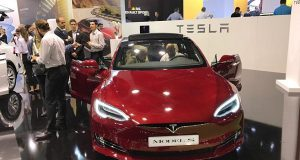 Автопроизводитель Tesla открывает первый салон в Испании