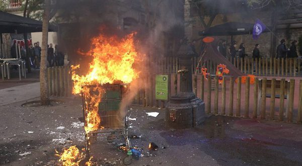 Первое мая было отмечено манифестациями по всей Испании